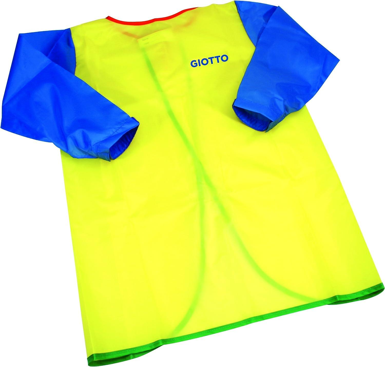 Giotto - Delantal con mangas de plástico, lavable: Amazon.es: Oficina y papelería