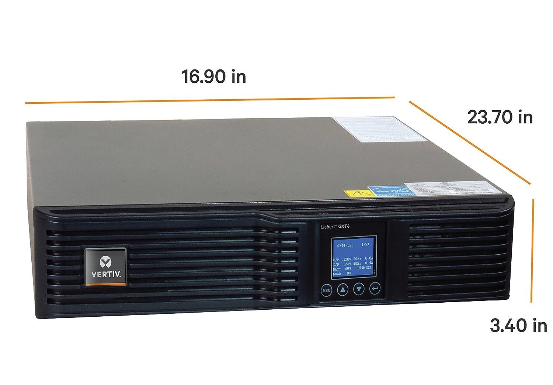 Vertiv Liebert GXT4, 3000VA/2700W, 120V On-line, Double-Conversion  Rack/Tower Smart UPS (GXT4-3000RT120)