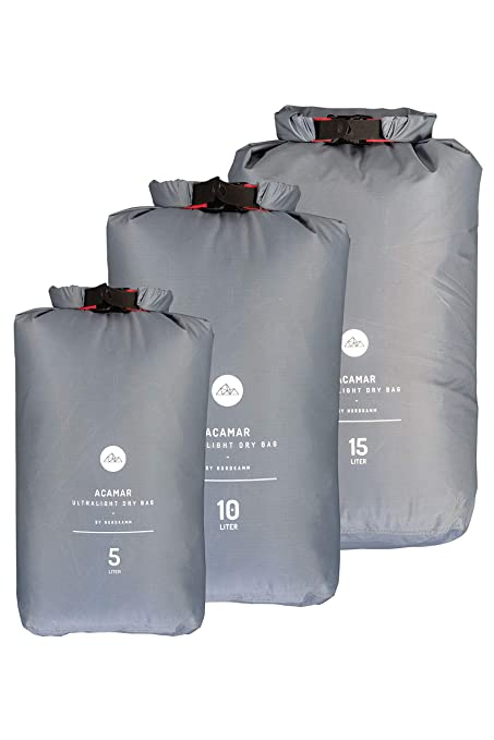 NORDKAMM - Bolsa estanca Gris Gris 10 litros: Amazon.es ...