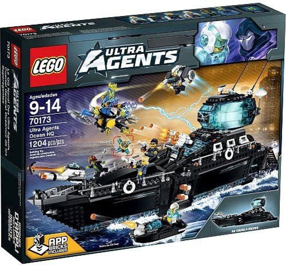 LEGO Agents Ultra Agents Ocean HQ - 70173
