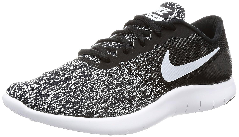 NIKE Women's Flex Contact Running Shoe B008N9YKIS 11.5 B(M) US|Black/White