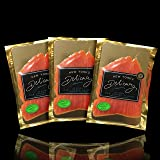 New York's Delicacy Smoked Salmon Nova - 5 x 4 Oz. All Gin & Tonic (1.25 lb) - Most Awarded, Pre-Sliced, Fully Trimmed Salmon