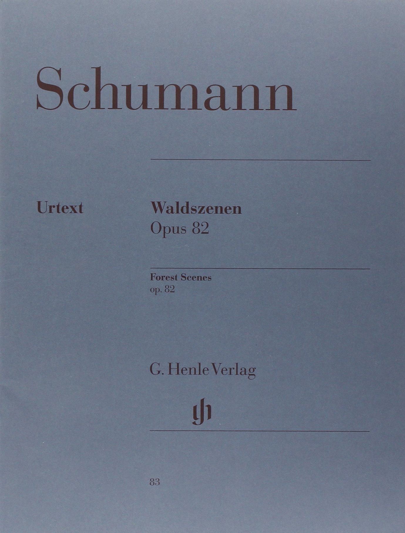 Waldszenen Op 82. Klavier