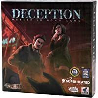 Deception: Murder in Hong Kong | 4-12 Players | Official Version | English and Arabic Language | Group Game For Ages 14…