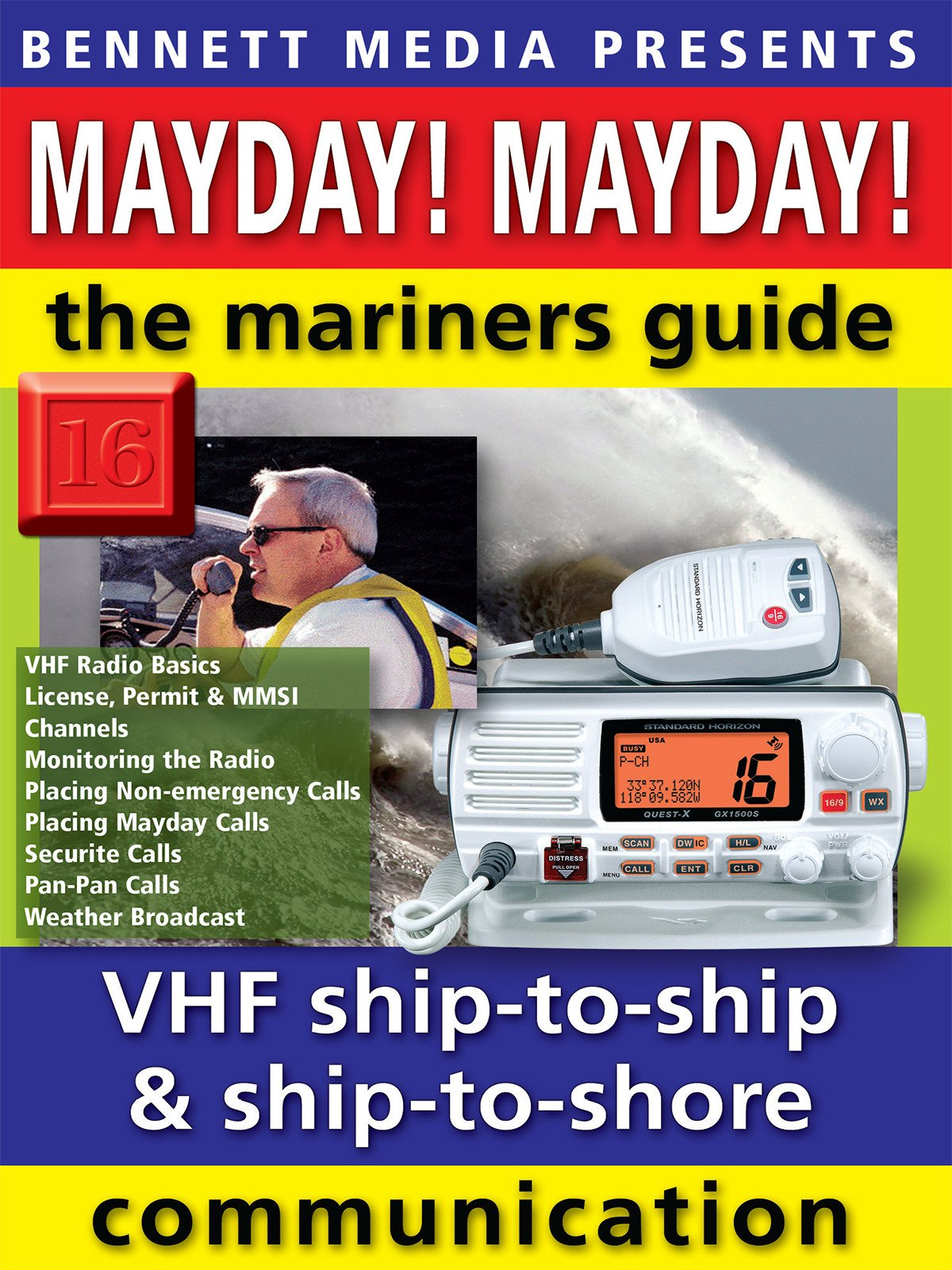 Mayday! Mayday! The Mariners' Guide to VHF Ship-to-Ship & Ship-to-Shore Communication on Amazon Prime Video UK