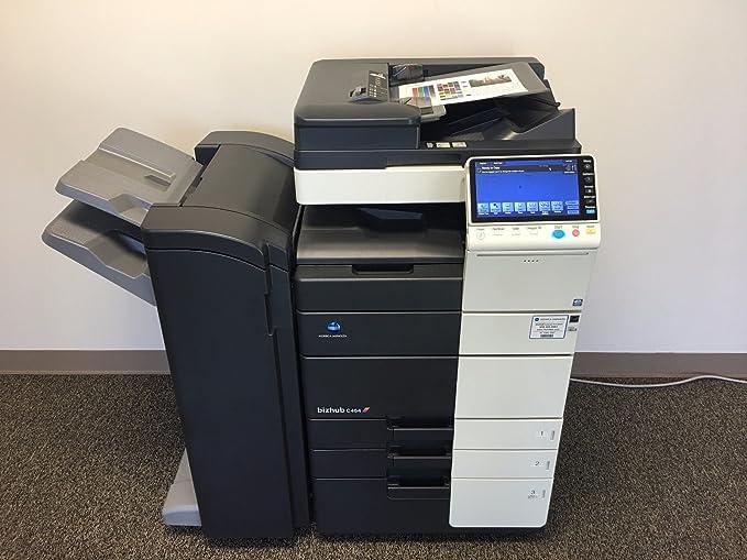 Amazon.com: Konica Minolta Bizhub C454 Color Copier Printer ...