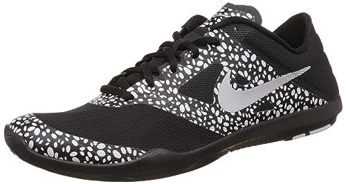 9c313666da Nike Women s W Studio Trainer 2 Print Black and White Running Shoes - 8 UK