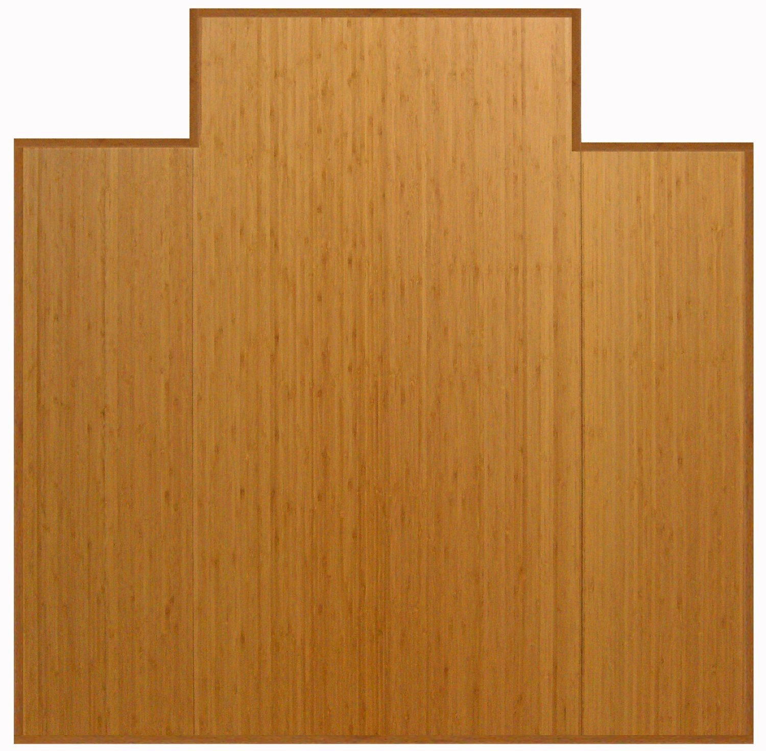 Bamboo Foldable Natural 36'' x 48'' w/ Lip 3/16'' Thickness Chair Mats by American Floor Mats