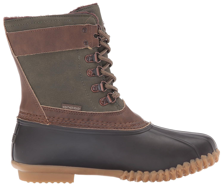 JBU by Jambu Women's Nova Scotia Rain Boot B019PN4FMQ 10 B(M) US|Army Green/Brown
