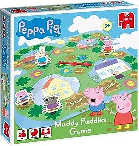 Disney Muddy Puddles - Juego de Mesa sobre Peppa Pig y los Charcos ...