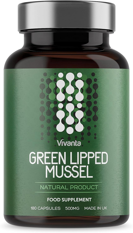Mejillón de labios verdes - 500mg x 180 cápsulas | Mejill Labio ...
