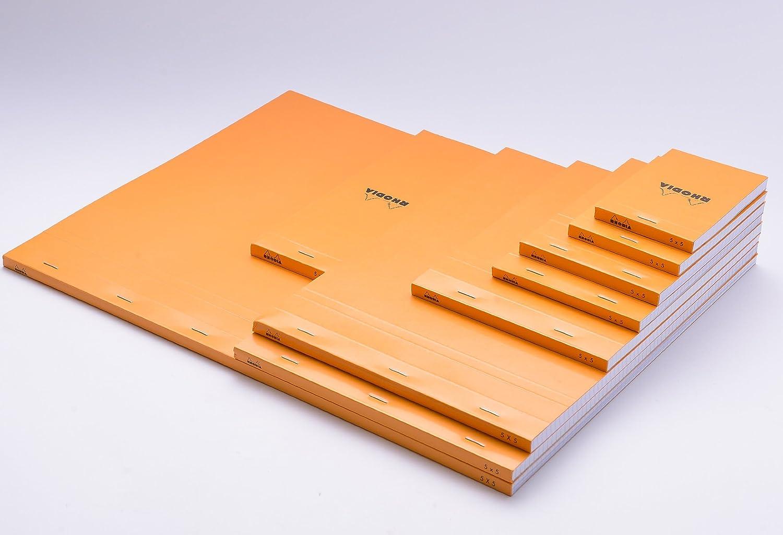 ロディア No.11 方眼罫 オレンジ 3冊セット cf11200