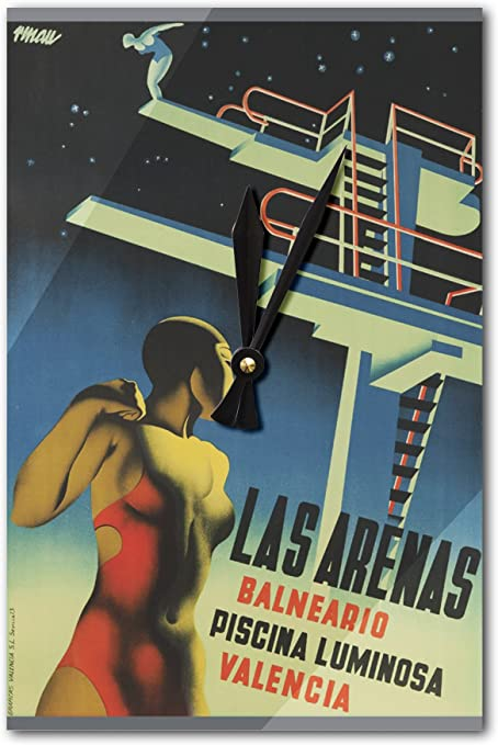 Las Arenas Vintage Póster (artista: Renau Montoro) España C. 1932 ...