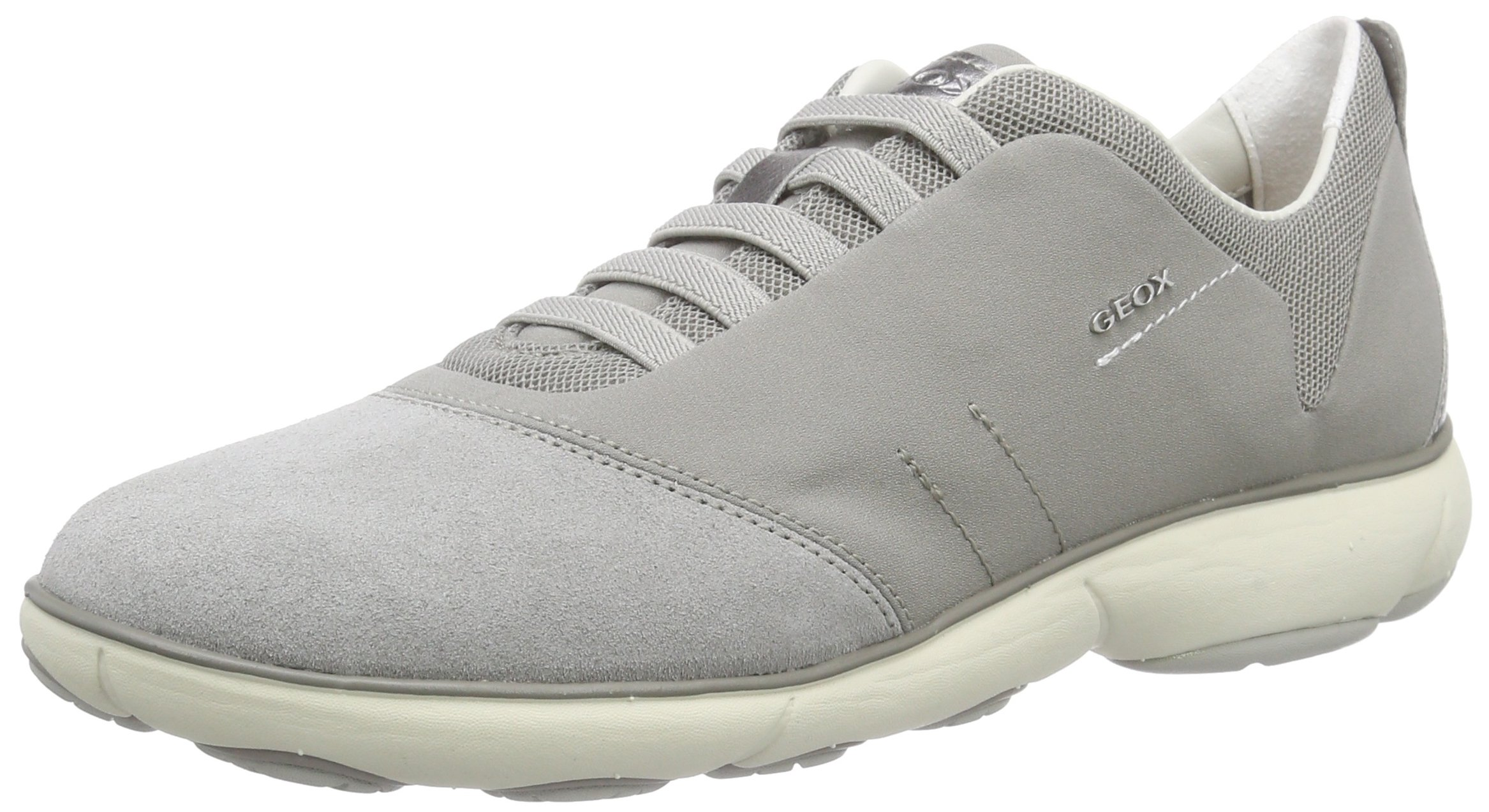Geox Women's W NEBULA 4 Light Grey Shoe by Geox