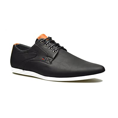 Shoes Mens Casual Shoes Leather Outdoor Exercise Sneakers Formal Business Work (Color : Black1 Size : 44)