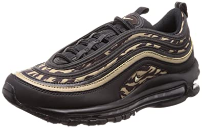 Nike Men s Air Max 97 AOP Running Shoes Black Khaki-Velvet Brown 7.5 9bdcbf002