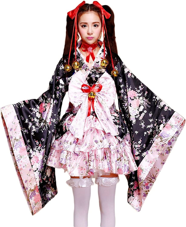 VSVO Anime Cosplay Lolita Halloween Fancy Dress Japanese Kimono Costume