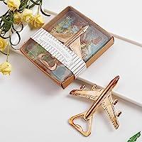 Airplane Bottle Opener - Aviation Gifts for Pilot - Airplane Decor - Birthday Gift for Veteran - Plane Beer Bottle…