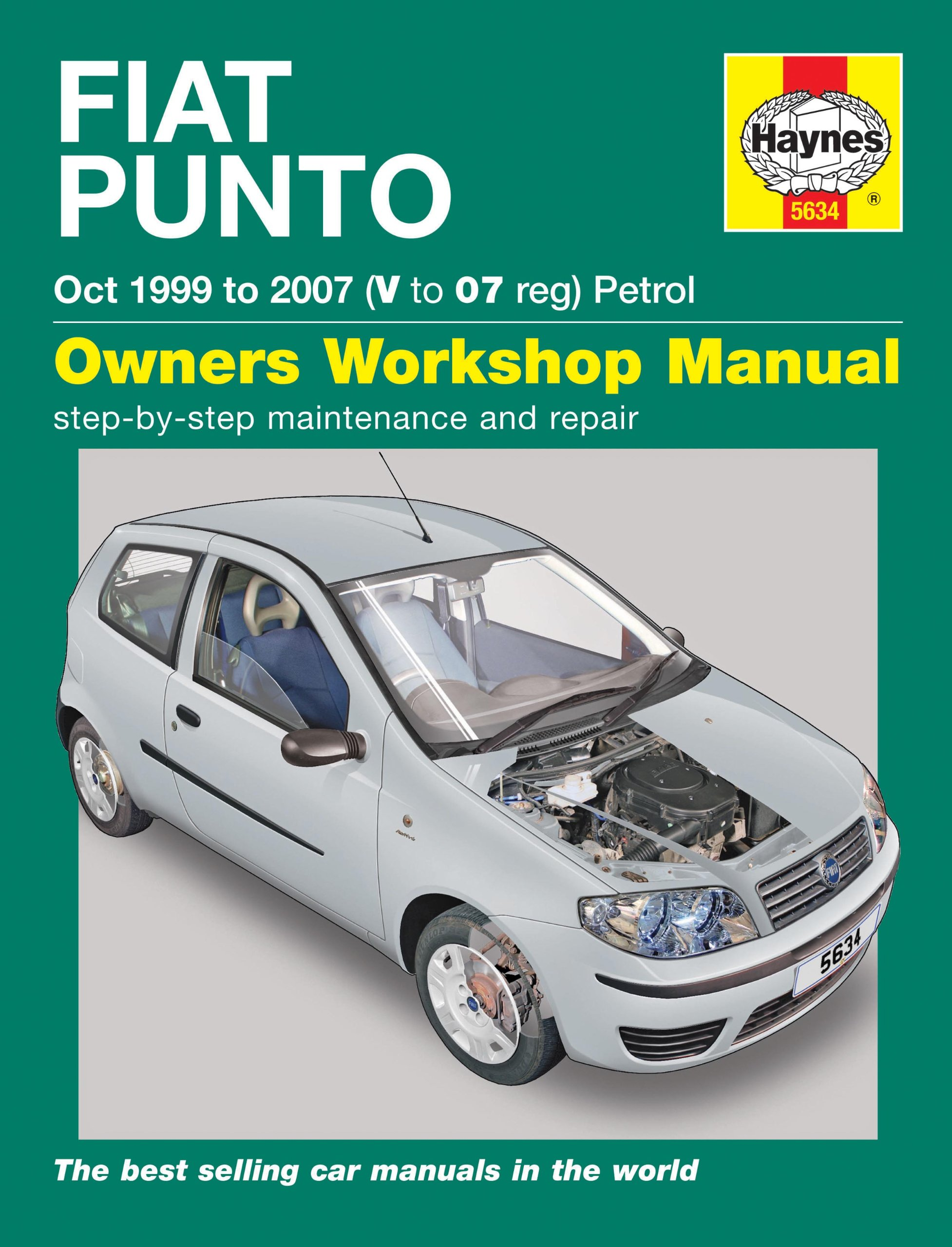 Fiat Punto Petrol Owners Workshop Manual (Haynes Manual): Amazon.co.uk:  John Mead: 9781785213748: Books