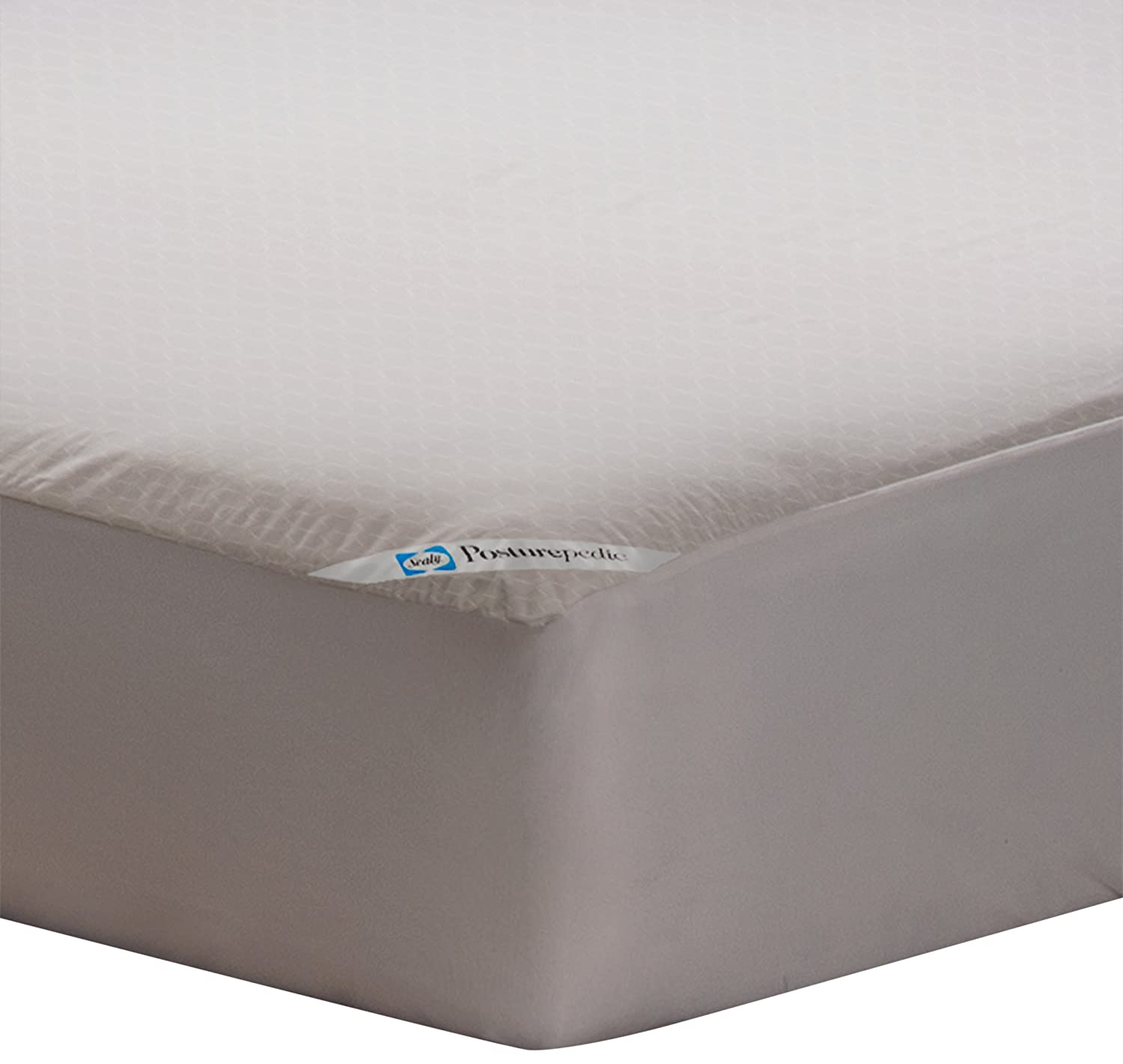 Sealy Posturepedic Allergy Protection Zippered Mattress Protector, King