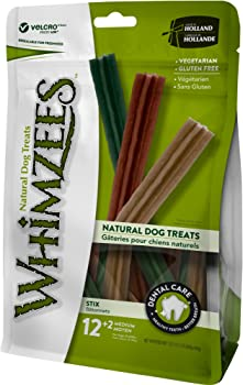 Whimzees Natural Grain Free Dental Dog Treats Stix
