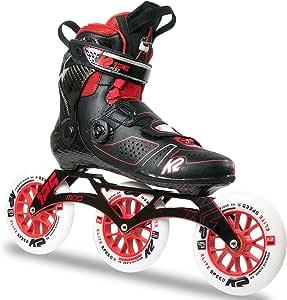 K2 Skate Mod 125 Inline Skates, Size 6, Black/Red