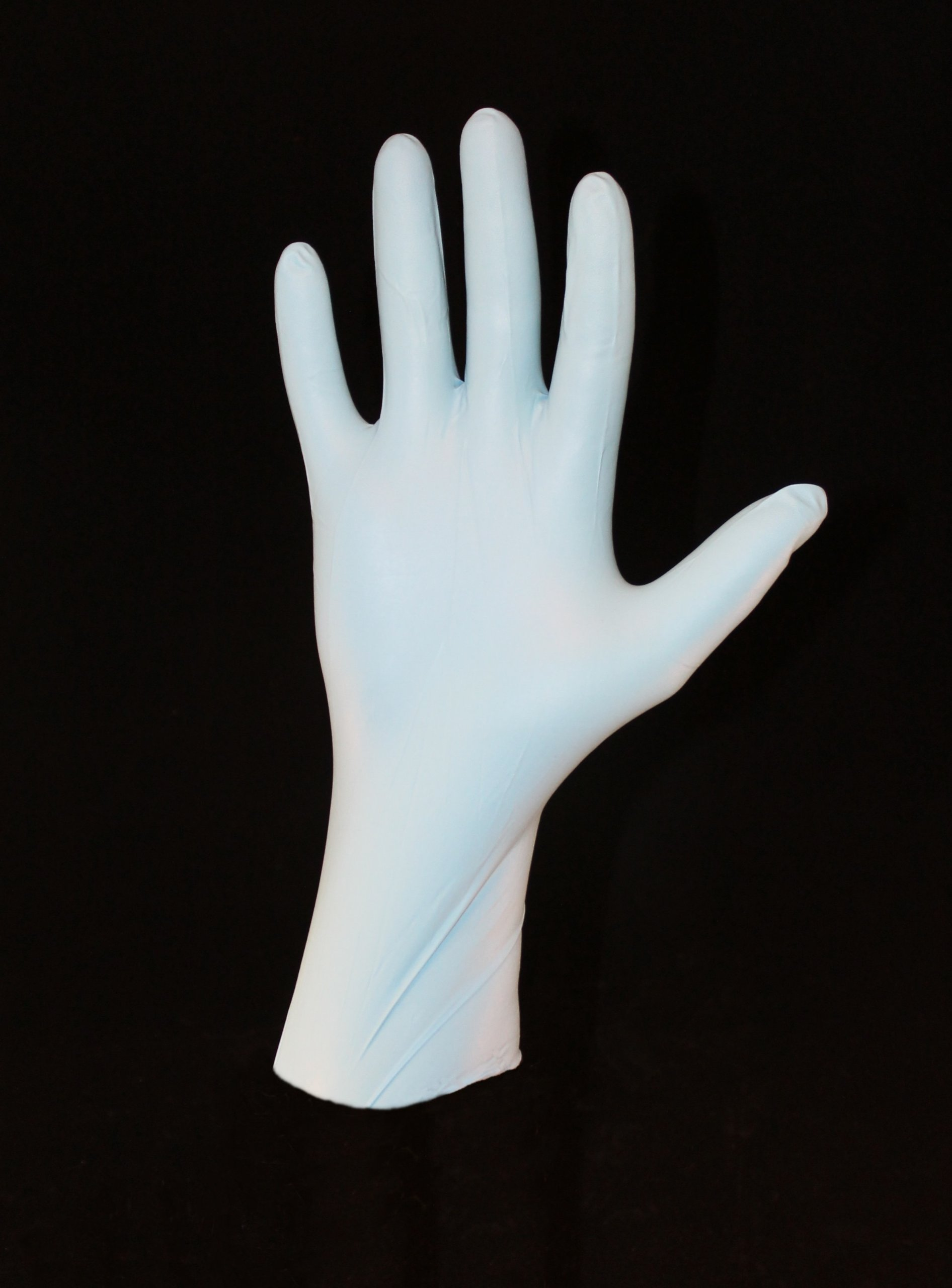 12'' 8 mil Blue Nitrile Food Gloves, PF, 500/case (Extra Large) by Duraskin