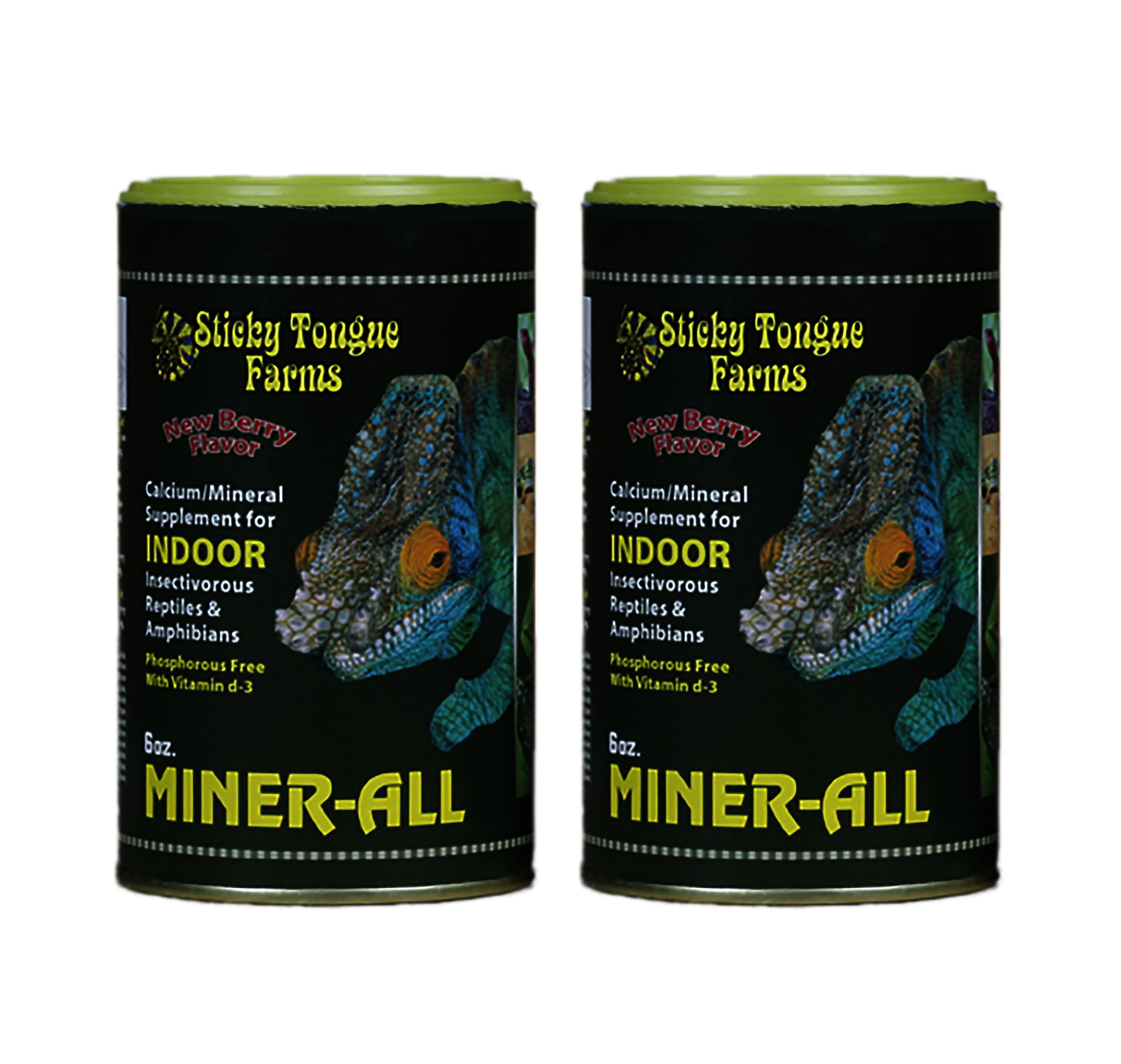 Miner-All Reptile Supplement 6 oz Indoor (2 Pack) by Pangea