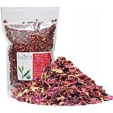 Organic Rose Flower Rose Petals Tea caffeine free herbal tea (Organic Rose Flower 4 OZ)
