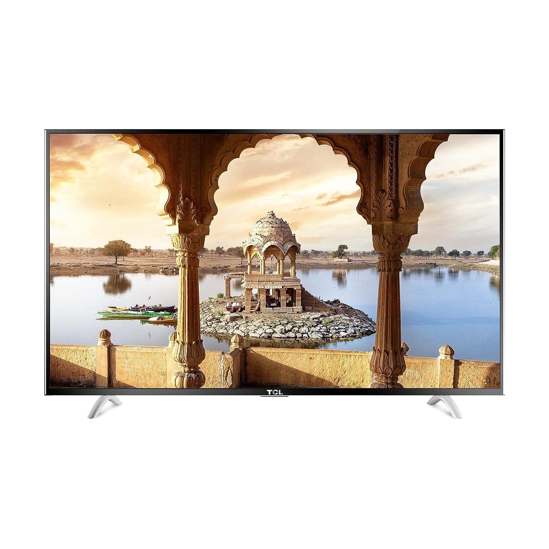TCL 139.7 cm (55 inches) L55P1US 4K Ultra HD Smart LED TV (Black)