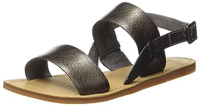 292256a21563 Timberland Women s Carolista Slingbackgunmetal Metallic Open Toe Sandals