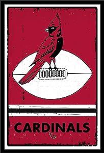 Trends International Wall Poster Arizona Cardinals Retro Logo, 22.375 x 34