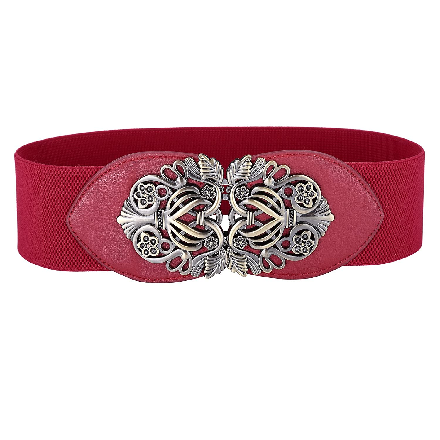 GRACE KARIN Women's Elastic Stretch Wide Vintage Waist Belt