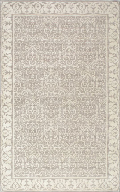 Shubra Rug, Tan, 8'x10' - Traditional - Area Rugs - by nuLOOM