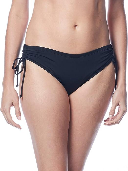 48b1f052aa Amazon.com: Beach House Hayden Side Tie Bottom Black 6: Clothing
