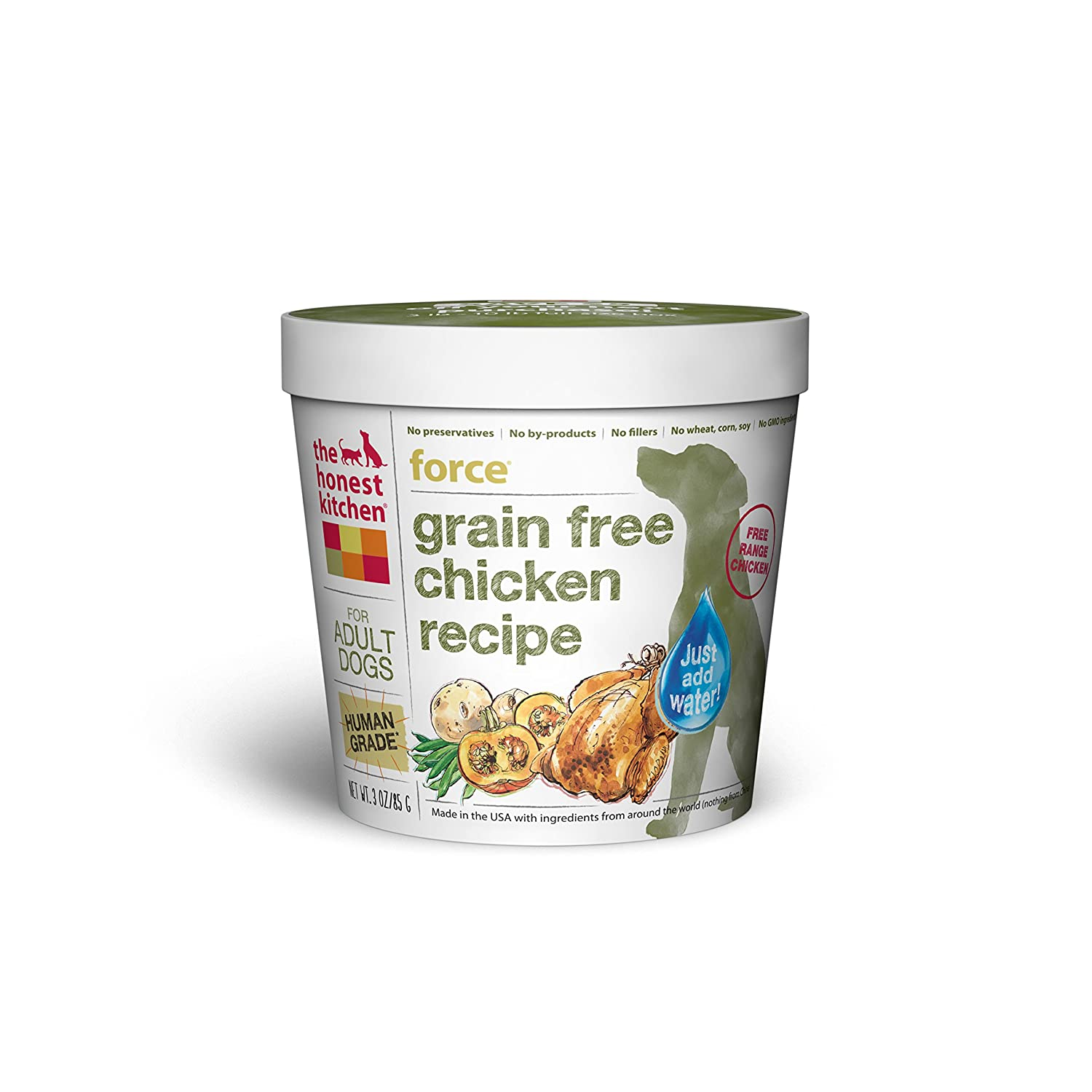 Amazon.com : The Honest Kitchen Grain Free Chicken Dog Food Recipe ...