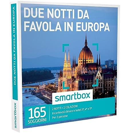 Smartbox - Cofanetto Regalo - DUE NOTTI DA FAVOLA IN EUROPA - 165 ...