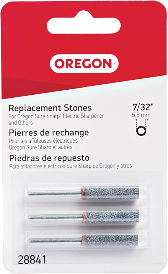 Oregon 28841 7//32-Inch Electric Sure Sharp Replacement Sharpening Stones