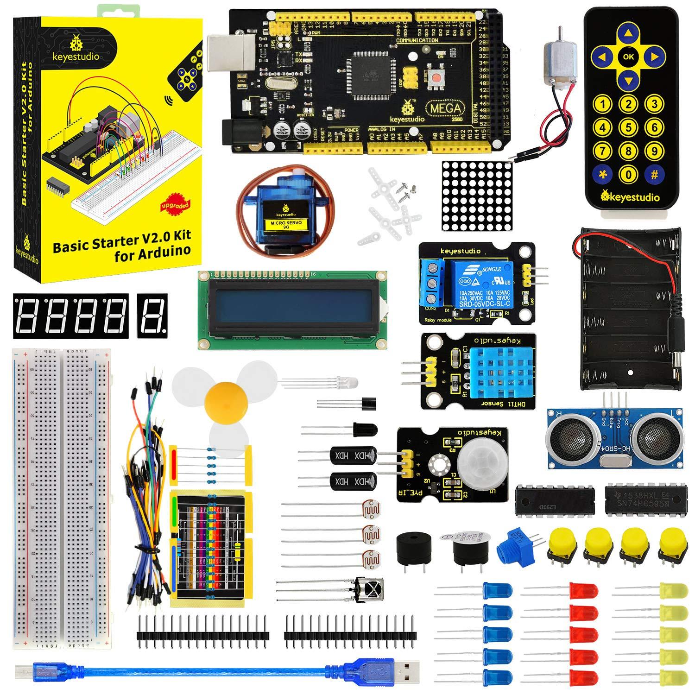 Arduino Uno R3 Kit KEYESTUDIO (7QR1R1L9)