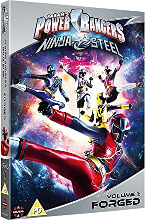 Power Rangers Ninja Steel: Forged Volume 1 Episodes 1-4 ...