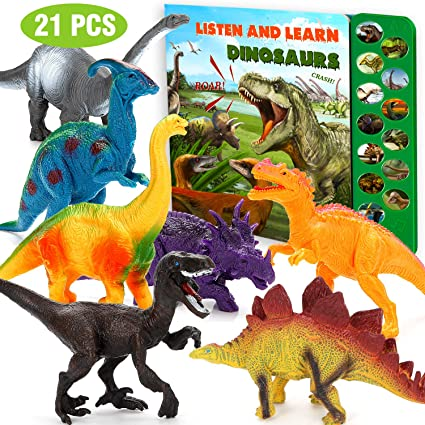 Dinosaur Toys for Boy and Girls 3 Years Old /& Up Dinosaur Toys Set of 20 Realistic Looking,Plastic Assorted Dinosaur Figures Toddler Education,Perfect Easter Childrens Day Gifts for Kids//Adults