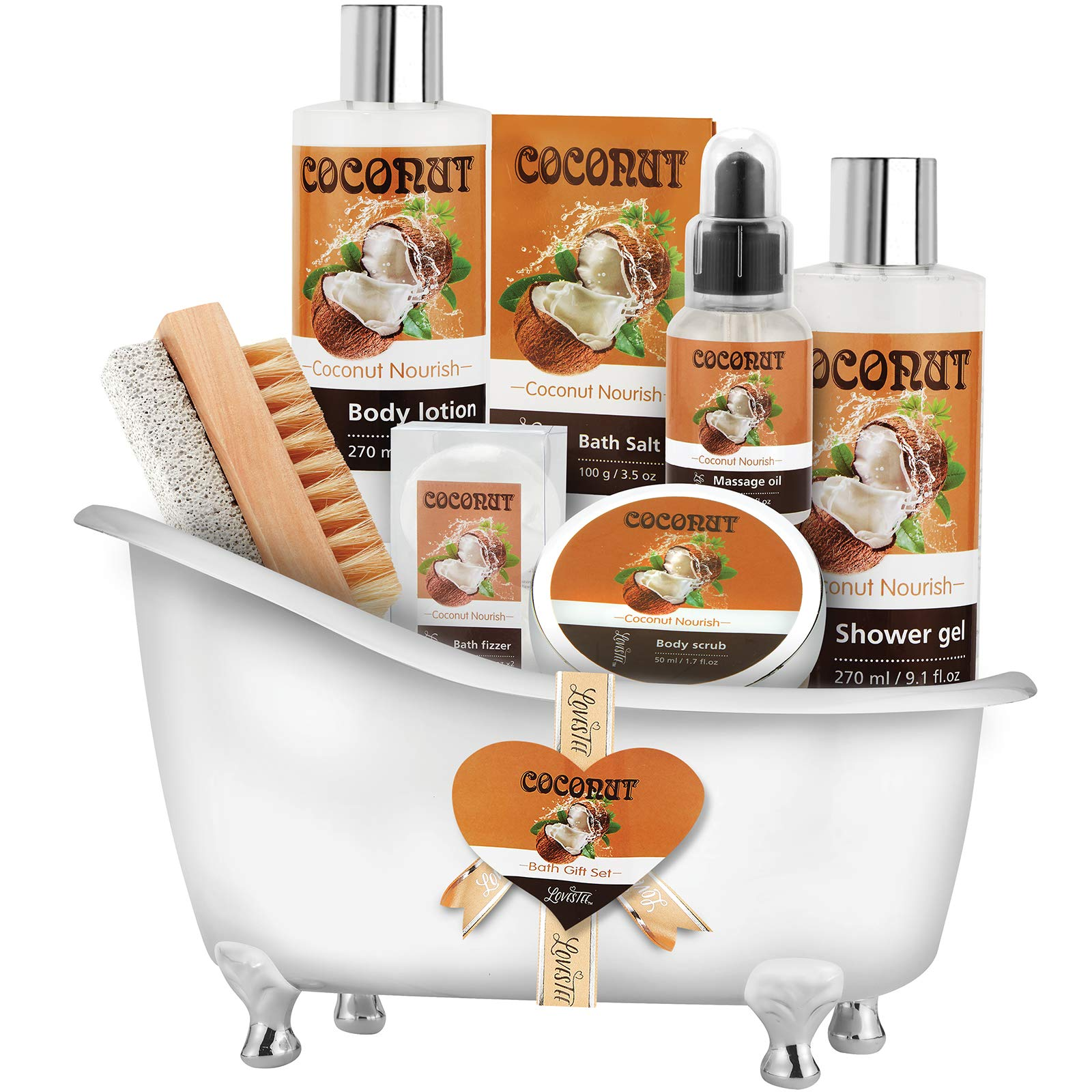 Amazon.com : Relaxing Lavender Spa Bath Gift Baskets for ...