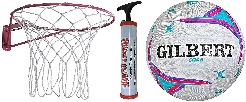 Gilbert Academy Wall Mounted Netball Ring Starter Set