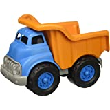 Green Toys 自卸卡车玩具,橙色/蓝色,10 x 7.5 x 6.75