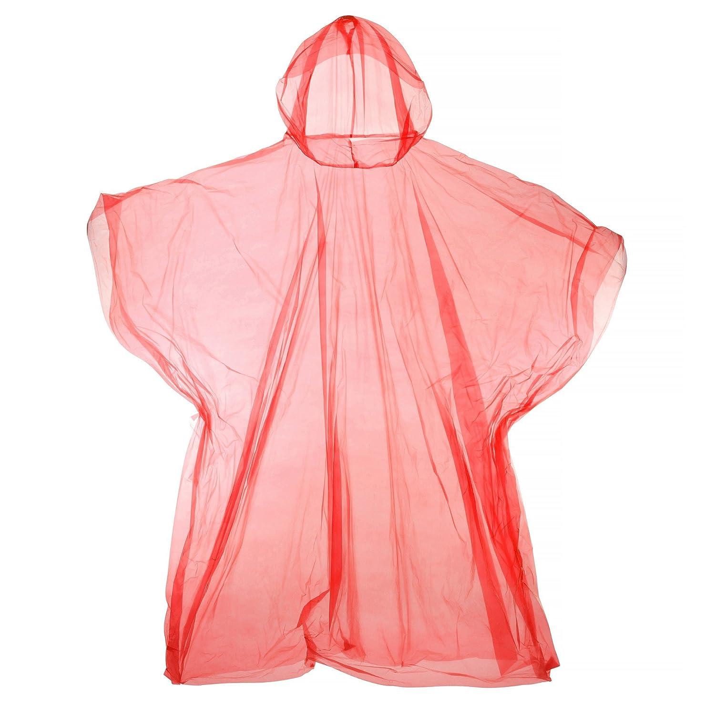 Universal Textiles Hooded Plastic Reusable Poncho UTRW3674_2