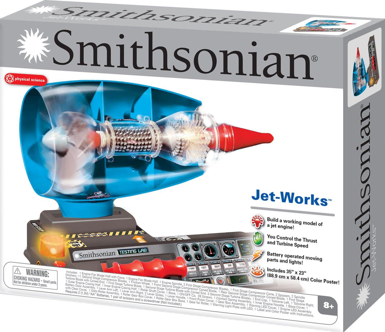 Amazon NSI Smithsonian Jet Works Toys & Games