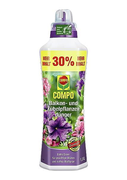 Bester dünger für balkonpflanzen