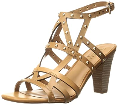 20728b9651 Amazon.com   Franco Sarto Women's Calesta Heeled Sandal   Heeled Sandals