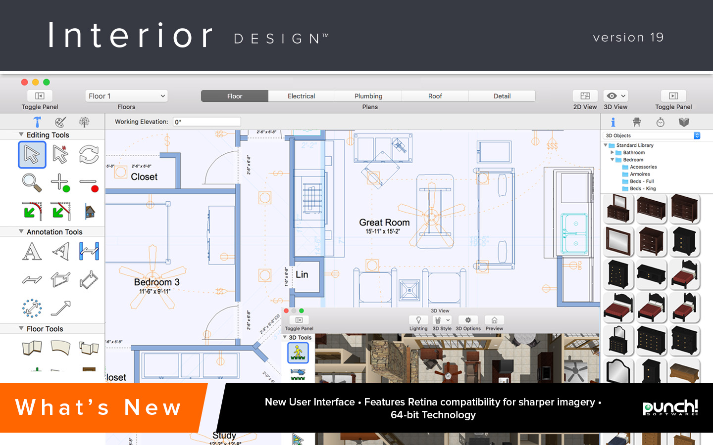 Punch interior design for mac v19 download software for Interior design computer programs free