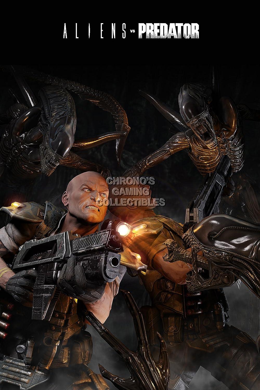 Amazon.com: PremiumPrintsG - Alien vs Predator PS3 Xbox 360 ...